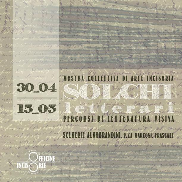 SOLCHI LETTERARI_Catalogo della mostra